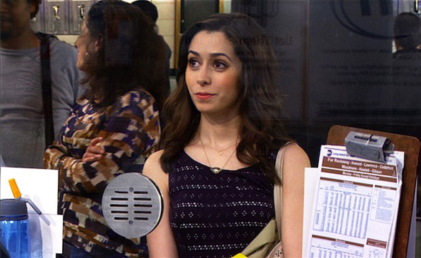 Cristin Milioti verkörpert also die Mutter in How I Met Your Mother